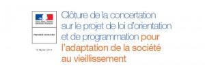 Rapport de restitution de la Concertation sur le projet de loi «Adaptation de la société au vieillissement»