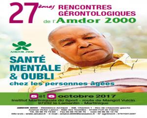 27èmes rencontres gérontologiques 2017, AMDOR- Martinique