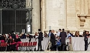 VATICAN: Meeting with Pope Francis