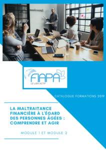 CONSULTEZ LE CATALOGUE FORMATIONS FIAPA 2019