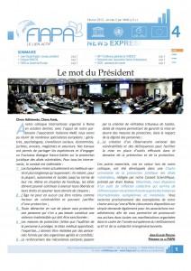 Newsletter fevrier 2012