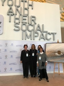 maitre Isern-Real, conseillère scientifique à la Fiapa au 7ème forum des ONG partenaires de l'UNESCO