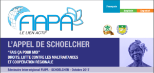 L'APPEL DE SCHOELCHER – Octobre 2017 (available in English – disponible en español)